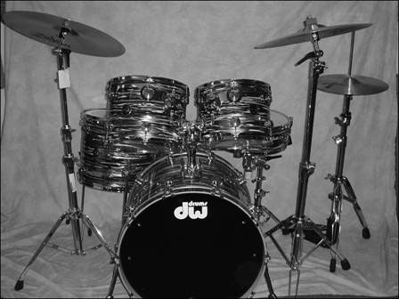 The modern drumset.