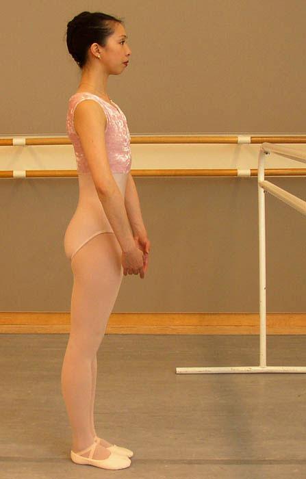Finding good placement for ballet technique.