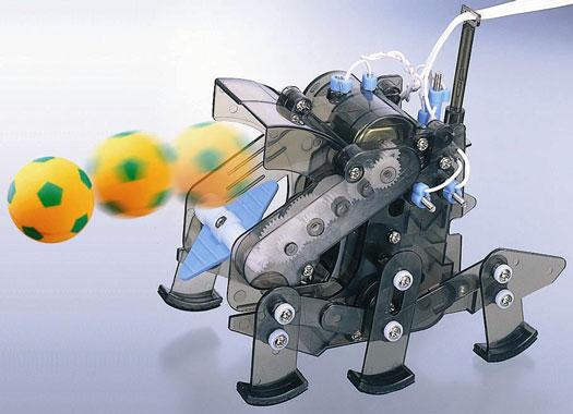 The nonprogrammable Soccer Jr. robot