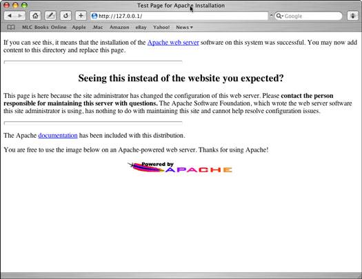 Using Mac OS X Panther Web Sharing - dummies