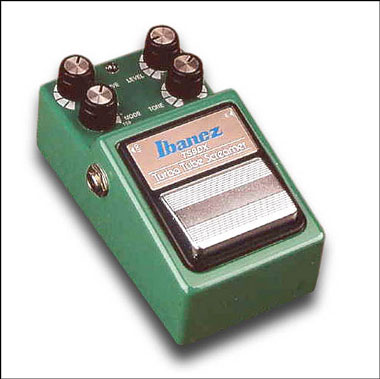 Although its circuitry is solid-state, the Ibanez Tube Screamer is a classic effect known for its smooth, tube-like overdrive.