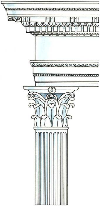 Greek Architecture Doric Ionic Or Corinthian Dummies
