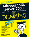 Microsoft SQL Server 2008 All-in-One Desk Reference For Dummies