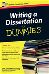 Writing a dissertation for dummies good