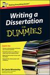 Help writing dissertation proposal dummies