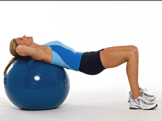 How to Do the Bridge on an Exercise Ball - dummies