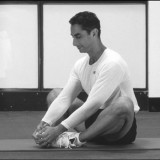 The butterfly stretch targets your inner thighs, groin, hips, and lower back.