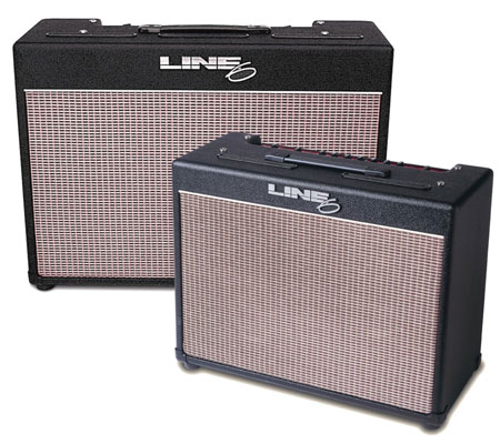 Line 6 Flextone series amps use digital modeling technology.