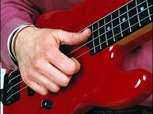 Best Bass Strings For Slap : how to position your right hand for slap style bass guitar playing dummies ~ Hamham.info Haus und Dekorationen