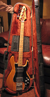 Protect your bass with a hard-shell case.