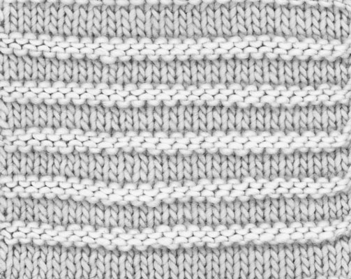 How To Knit Textured Stripes Dummies