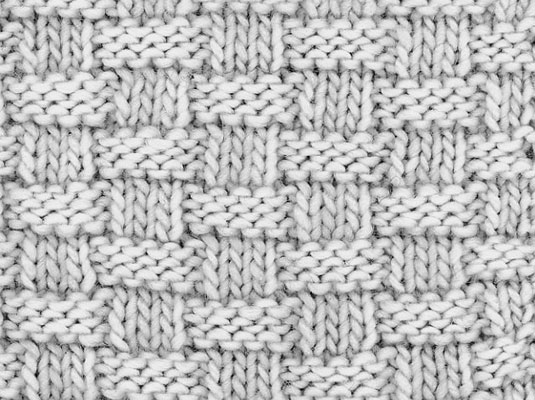 How To Knit Basketweave Stitch Dummies