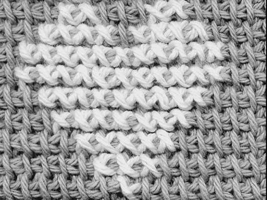 How to Cross-Stitch on Crocheted Afghan Stitch - dummies