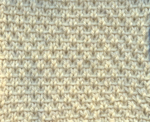 How To Knit The Half Linen Stitch Dummies