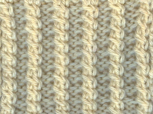 How To Knit The Two Stitch Twist Cable Dummies