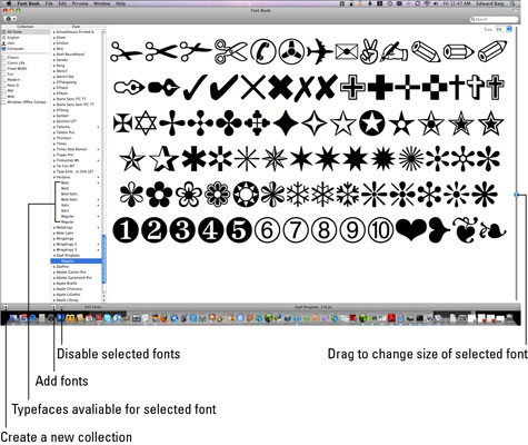 How to Manage Your Fonts Using the Mac Font Book - dummies