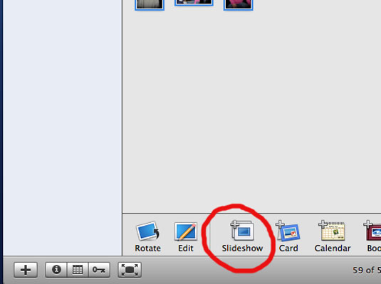 How to Create iPhoto Slideshows on Your Mac - dummies
