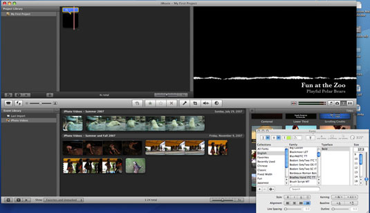 How to Add Titles to Your Movies in iMovie - dummies