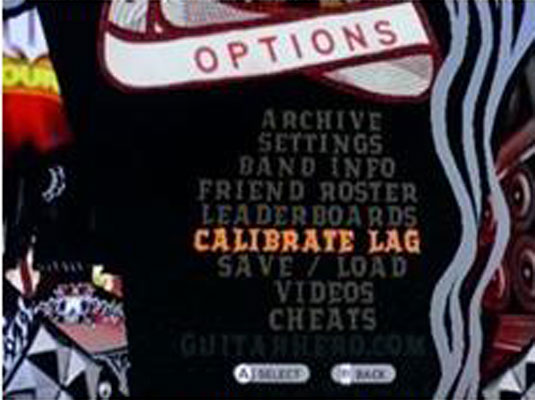 How to Calibrate Lag in Guitar Hero - dummies