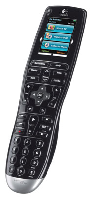 Automate your home theater with a remote control like the Harmony One.