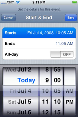 How to Add Calendar Entries on Your iPhone - dummies