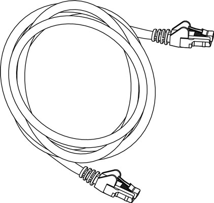Category 5 Cable Drawing