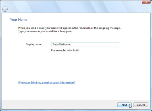How to Set Up Windows Mail to Work with a Gmail Account - dummies