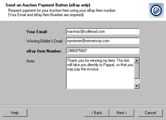 How to Use the Outlook Payment Request Wizard - dummies