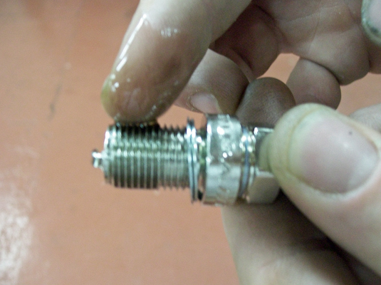 Image on Spark Plug Wire Ends
