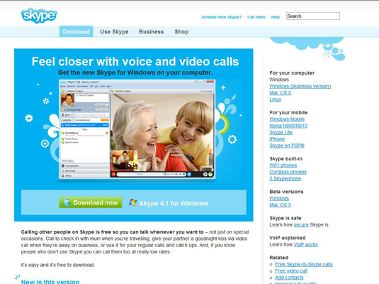 download skype for windows vista home premium