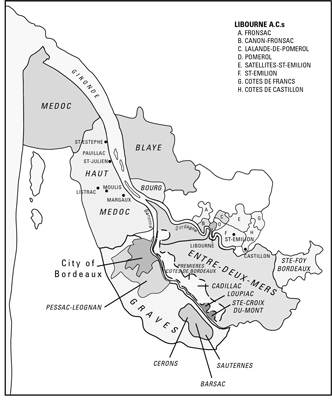 Bordeaux is a complex region, with many districts.