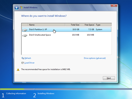How to Clean Install Windows 7 over Windows XP - dummies