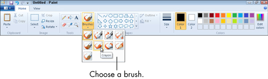 How to Draw a Picture in Paint for Windows 7 - dummies