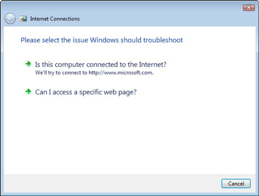 How to Repair a Network Connection in Windows 7 - dummies