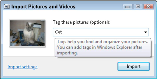 How to Import Images from a Camera Using Windows 7 - dummies