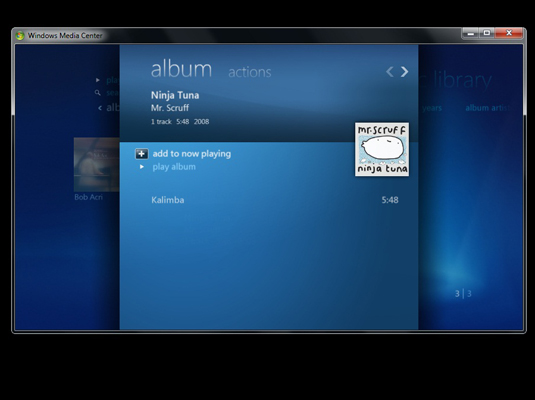 how to add a song to an album windows 7