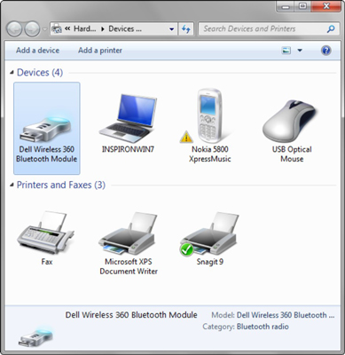How to Set Up Windows 7 for Bluetooth - dummies