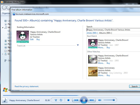 How to Update and Correct Song Tags in Windows Media Player