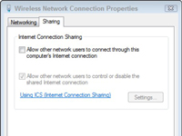 internet connection sharing step 4