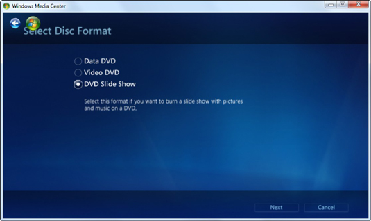 How to Burn a DVD in Windows Media Center - dummies