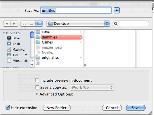 How to Open and Edit a Text File on a Mac - dummies