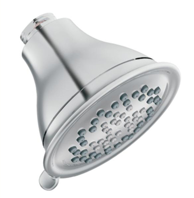 A low-flow showerhead