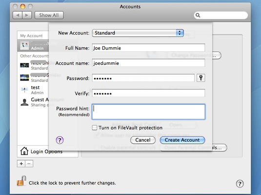 How to change the name of your macOS user account and home folder