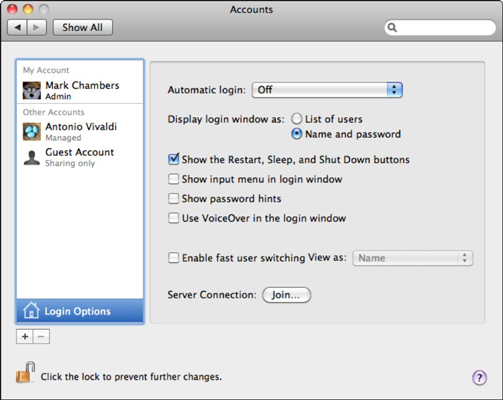 How to Configure Your Mac OS X Snow Leopard Login Screen for ... 2f66cdadc
