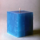 Basic molded candles are great for Christmas gifts.
