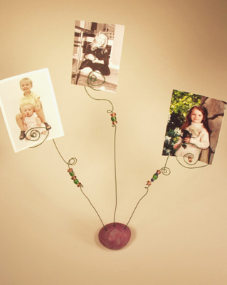 How To Make A Whimsical Wire Scroll Photo Holder Dummies
