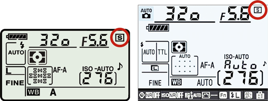 The Release mode in a Nikon D90's control panel.