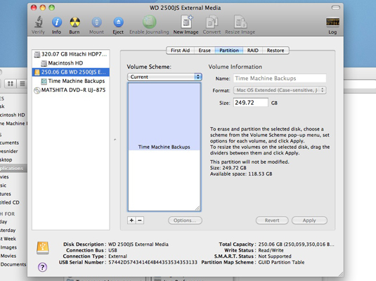 How to Partition Your Hard Drive on Mac OS X Snow Leopard