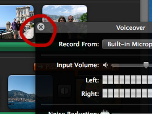 how to add clips to imovie project