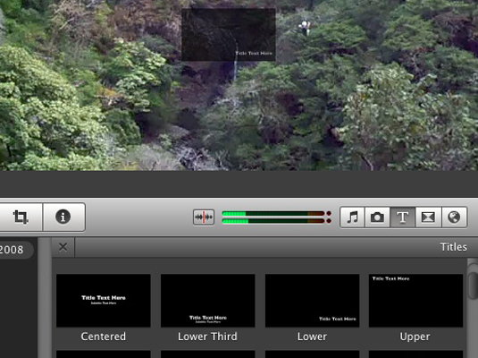 How to Add Titles to Your iMovie Project - dummies